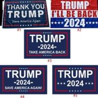 트럼프 플래그 2024 선거 플래그 배너 도널드 트럼프 플래그 아메리카를 다시 구하기 150 * 90cm 고맙습니다 트럼프 플래그 3 * 5feet