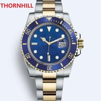 Super Factory Gift Wood Box Watches 116610 116618116618LB 116619LB 116613LN 116610LV 116613LB 114060 Ceramic Bezel Automatic Diving Mens Wristwatches