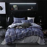 Bedding Sets Twin Full Bedsheet Luxury Duvet Cover Set King Size Queen Blue Quilt Pillowcase Bed Sheet