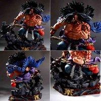 24 cm anime uma peça gk kaido ação figura modelo colecionável toys dolls x0503