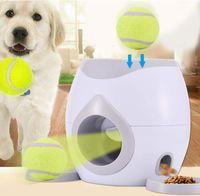 Hundekugeln-automatische Launcher Belohnung Spielzeug-Feeder Puzzle-Dispenser interaktives Essen langsame Futtermaschine