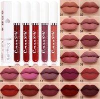 CMAADU MATTE LÍQUIDO LIP LIP GLOST 18 cores Batom Foundation Maquiagem Cup não-Stick Lipgloss Long Durando Maquillage 18scc