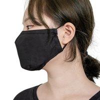 Три прямой размерный хлопок PM2. 5. Регулируемая полоса уха, фильтрующая вставка, пылезащитная и теплая трехслойная маска