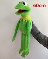 60 cm Peluche Giocattolo, Sesame Street Frog Toy Big Hand Body Bambini Bambini Ragazzi e ragazze Regali di compleanno di compleanno