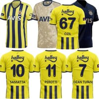 Fenerbahce SK 2021 فوتبول الفانيلة المنزل Third 20/21 ثيم بيلكاس ميسوت ÖZ Il Ozan Tufan Perotti Samatta Soccer Chamss Shirt