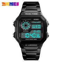2019 أفضل بيع الرجال الساعات skmei الرياضة ووتش رجل الفاخرة ماركة ساعة ساعة اليد الأصلية رجل الساعات هدية ليجو جديد Y0524