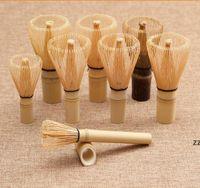 Mehr Stil Natürliche Bambus Tee Chasen Professionelle Matcha Tee Whisk Teezeremonie Werkzeugbürste Chasen Box HWF10502