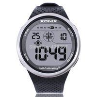 Xonix мужские цифровые водонепроницаемые спортивные часы 100 метров Timing Calibration автомобиля с многофункциональным кремнием открытый плавание