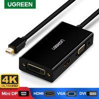 Mini DisplayPort to HDMI VGA Adaptateur DVI Thunderbolt 2 Convertisseur HDMI Mini DP Câble pour surface Pro 4 mini DisplayPort