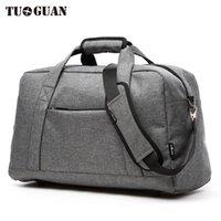 Sacs Duffel 2021 Tuguan Brand Design Style coréen Hommes Sans bagages Femmes Voyage Grand Mesan Male Messenger Épaule décontractée
