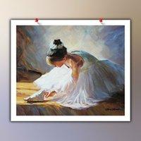 Faire des chaussures Décoration à la maison énorme peinture à l'huile sur toile Headcrafts / HD Imprimer Mur Art Photos Personnalisation est acceptable 21043025