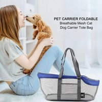 Dog Car Seat Covers Foldable Pet Cat Tote Bag Portable Carriers Mesh Breathable Pets Handbag Travel Tent Carrier Outdoor Bags For Small Dogs