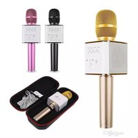 Q9 04 Wireless Karaoke Microphone Bluetooth Speaker 2 in 1 Handheld Sing Recording Portable KTV Player for iOS Android