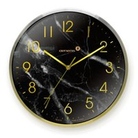 Metal Large Wall Clock Silent Clocks Home Decor Rose Gold Watches Roman Digital Nordic Brass Marble Living Room Decoration
