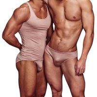 Underpants 9 Color Modal Men Briefs Soft Gay Sexy Underwear Man Slip Men's Mens Underware Quick Dry Swimming Bikini Solid AD315