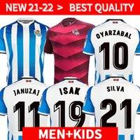 Real Sociedad 2021 2022 Jersey de football Copa del Rey Troisième Oyarzabal X Prieto Portu 3rd David Silva Odegaard Juanmi 21 22 Chemise de football Camiseta de Futbol