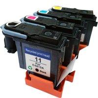 Ink Cartridges Compatible Printhead Cartridge For 11 C4810A C4811A C4812A C4813A 1000 1100 1200 2200 2280 2300 2600 2800
