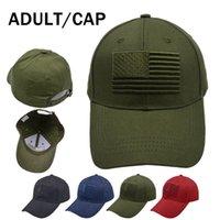 솔리드 컬러 야구 모자 정점 모자 유니섹스 미국 국기 야구 모자 고전적인 야외 태양 모자 여행 패션 파티 모자 rra4304