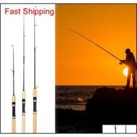 Spinning Sport Im Freien Tropfen Lieferung 2021 75 cm Länge Shrimp Eis Pole Tragbare Leichtwaffe Köder Ruten Angelwerkzeuge PESCA Qglei