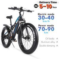 Shengmilo MX03 الكهربائية 1000W الدراجة الجبلية 48 فولت الكبار الدهون الاطارات دراجة 40 كيلومتر / ساعة E-bike مدينة الدراجة