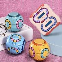 Crianças adulto descompressivo brinquedo infinito cubo mágico quadrado quebra-cabeça brinquedos aliviar estresse engraçado jogo de mão quatro canto labirinto brinquedos dhl navio