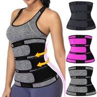 New Women Neoprene Waist Trainer Body Shaper 3 Steel Boned Corset Sweat Belt Tummy Control Workout Fitness Girdle Shapewear