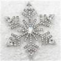 Broşlar 12 adet / grup Toptan Kristal Rhinestone Düğün Parti Balo Çiçek Kar Tanesi Pin Broş Hediye Takı C2