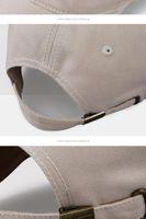 Han Edition الرجال بطة اللسان قبعة الصيف الخريف شخصية الظل في الهواء الطلق تفعل ثقب قديم في قبعة بيسبول في الخماسي القبعات