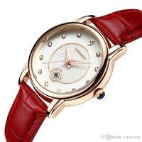 여성 패션 시계 일정 쿼츠 손목 시계 라인 석 빨간색 흰색 검은 가죽 스트랩 소녀 캐주얼 스포츠 시계 방수 럭셔리 선물