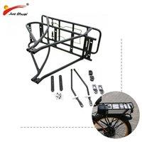 """Porte-bagages à vélo de vélo ajustable de 20 """"26"""" 700C Noir double couche eBike batterie de vélo électrique de la batterie arrière de la cargaison 3-29 '' mtb voiture camion r"""