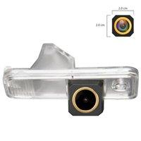 Câmeras traseiras do carro Sensores de estacionamento HD 1280x720p Golden Backup Camera TRAJETORY Linha Dinâmica para Kia Carens / Rondo RP / Creta Azer