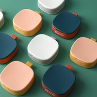 Mini-Reise-tragbare Pill-Box-Ablagerungsbehälter Tasche Fallhalter Medizin Organizer Feuchtigkeitssichere Pillen Vitamin-Hüllen 4 4594 Q2