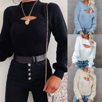 Women's Sweaters Fashion Sweater For Women Autumn Winter Casual Long Sleeve Pullover Ladies Jumper Soft Sweter De Mujer Invierno