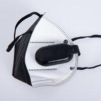 Masque Face Masque Ventilateur Air Frais De Refroidissement Été petit USB Mini Rechargeable Portable Récharge réutilisable Mute avec clip