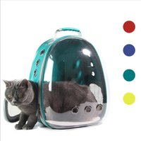 Cat Carriers,Crates & Houses Pet Carrier Bag Breathable Portable Backpack Cats Box Outdoor Travel Puppy Transparent Space