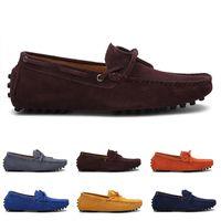 2021 Hombres no marcas Zapatillas Running Blanco Blanco Beige Rojo Rojo Marina azul marino Azul Moda Entrenador Zapatillas de deporte al aire libre caminando # 66