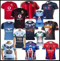2020 Lions britanniques et irlandais Edinburgh Rugby Jersey 2021 Holden Blues Montpellier Noir Shark Rugby Shirt Harlequins Bulls Super Jerseys Super Maillots