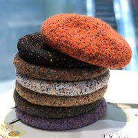 Berets Selling Color Knitted Hats Caps Men Winter Casual Beret Cute Girl Hat Bonnets For Women Designer Channel Korean Fashion Cap