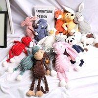 Çirkin Sevimli 33 cm Maymun Fox Panda, Fil Bebek, Peluş Oyuncak, Parti Malzemeleri, Dolması Hayvan Kolye Süs Noel Çocuk Kız Doğum Günü Hediyesi için, Ev Dekorasyon, 2-1