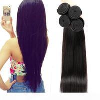 En vente vierge vierge humaine cheveux tisse naturelle noire droite DHGate Vendor Meilleurs ventes articles de vente malaisien indien péruvien cambodgien