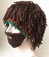 Kreative schmutzige Hut Erwachsene kinder lustige handgefertigte Wollmütze für Männer und Frauen