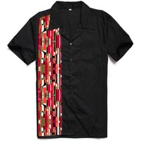 Camisa Masculina Short Sleeved Mens Clothing Abstract Mosaic...
