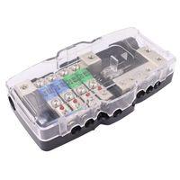 Parti 4 vie Audio Distribuzione audio Blocsteeo Fusibile Box Block 30A 60A Anl Blade Fuseholder 0 / 4GA