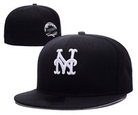 جودة النساء والرجل mets fitted القبعات فرق نيويورك شعار outdoors الرياضة قبعة الهيب هوب قبعة مختلطة النظام