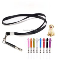Obedience Dog Training Whistle Ultrasonic Whistles with Lanyard Necklace Pet Dogs Supplies