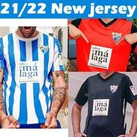 21/22 Málaga camisola de futebol Málaga 2021 2022 K. Juanpi Juanpi Adrian Camisa de futebol Juankar Camiseta de Fútbol CF Juande Mens Camisas