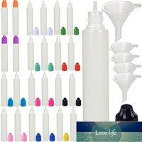 100 шт. Х 30 мл LDPE Пустая длинная ручка в форме сжимаемая жидкость E сок OLI Eye капельница бутылки баночки контейнеры с пластиковыми колпачками