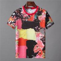 Hommes courtes courtes de haute qualité R Street T-shirt HIP HOP T-shirt Tops Avant Garde Skulls Casual Trend T-shirts99