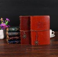 Piratenanker Notebooks Journal Notebook Vintage Tagebuch Notepad Lederabdeckung Reise Tagebuch 10 * 14.5cm GWA5062