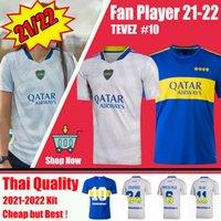 المشجعين المشجعين الإصدار 21 22 Boca Juniors Soccer Jersey Carlitos Maradona Tevez de Rossi 2021 2022 الصفحة الرئيسية Thailand تايلاند كرة القدم قميص الرجال مجموعات موحدة